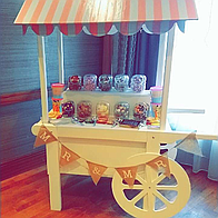 BridesMade Happy Sweets and Candies Cart