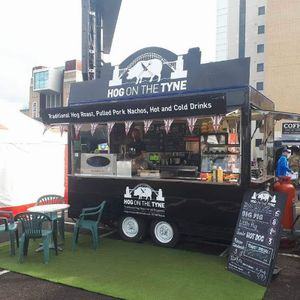 HOG ON THE TYNE Food Van