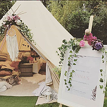 Into The Woods Glamping Marquee & Tent