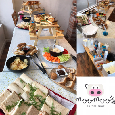 Moo Moos Coffee Shop Afternoon Tea Catering
