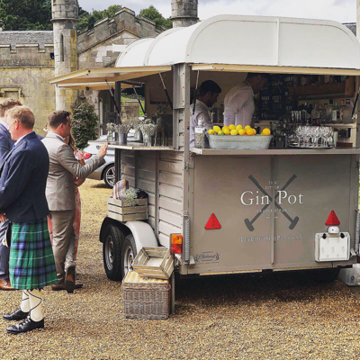 The Little Gin Pot Mobile Bar
