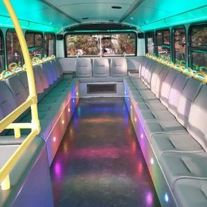VIP BUS PARTY Party Bus