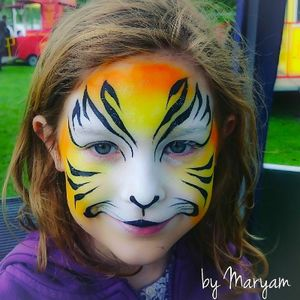 Maryam Luong Face Painting Children Entertainment