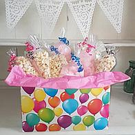 Flossypops Candy Company Popcorn Cart
