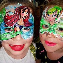 Face Painter Mask of Art Now Children Entertainment