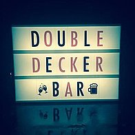 Double Decker Bar Mobile Bar