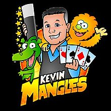 Kevin Mangles Magician Close Up Magician