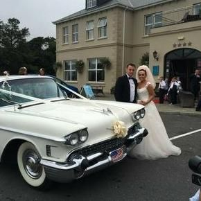 1958 Cadillac Vintage & Classic Wedding Car