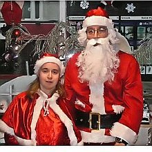 mr and mrs claus Impersonator or Look-a-like