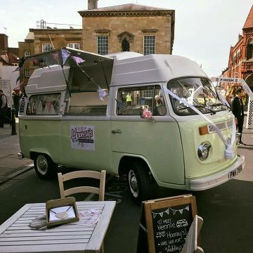 Hooray's British Gelato Kitchen Ice Cream Cart