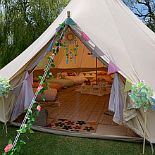 Maria Grace Events Bell Tent