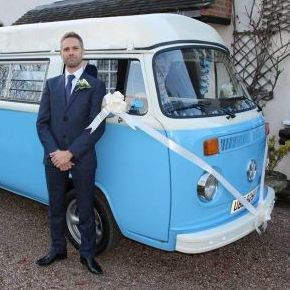 Blue Moon Bay VW Wedding Hire - Transport , Leicester,  Vintage Wedding Car, Leicester Chauffeur Driven Car, Leicester