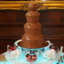 Chocolate Pipe Dream Chocolate Fountain Hire Children's Caterer