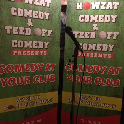 Owzat and Teed Off Comedy Comedian