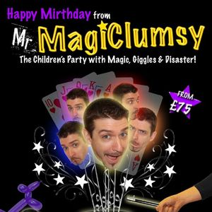 Mr MagiClumsy - Children Entertainment , Nuneaton, Magician , Nuneaton,  Close Up Magician, Nuneaton Children's Magician, Nuneaton Table Magician, Nuneaton Wedding Magician, Nuneaton Balloon Twister, Nuneaton