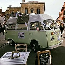 Hooray's British Gelato Kitchen Street Food Catering