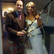 Alan Anderson Wedding Piper Solo Musician