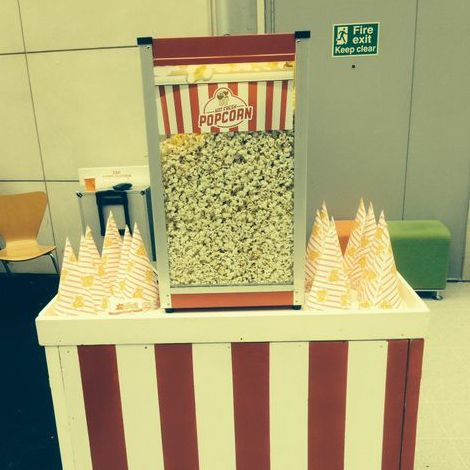Popcorn Event Hire - Catering , Derby,  Popcorn Cart, Derby