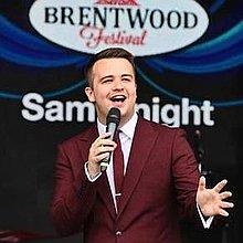 Sam Knight - Singer Vintage Singer