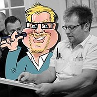 Groves Caricatures Caricaturist