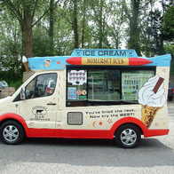 Somerset Ices Ice Cream Cart