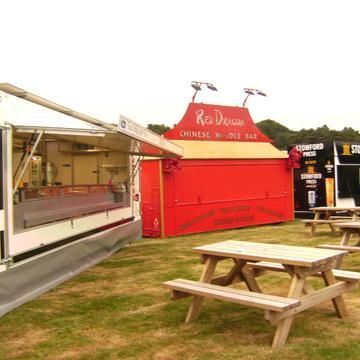 Taste of Wales Ice Cream Cart