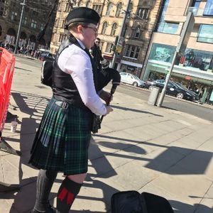 Adam Davanna - The Pans Piper Bagpiper
