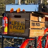 The Pizza Bike Pizza Van