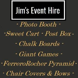 Jim's Event Hire - Kettering Sweets and Candy Cart