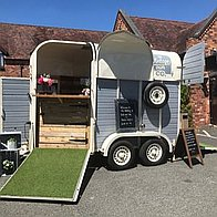 The Vintage Van Company Afternoon Tea Catering