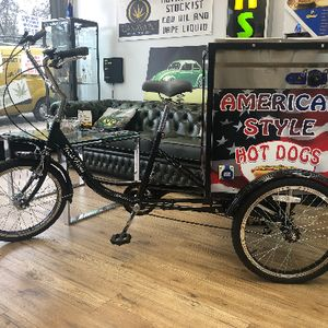 Treat Trikes Ice Cream Cart