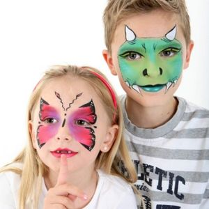 Derby Face And Body Painting -  Balloon Twister, Derby Face Painter, Derby