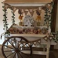 Magical Moments Sweets and Candies Cart