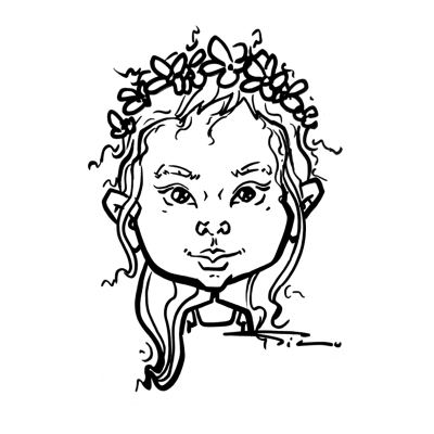 Quick Cute Portraits for Your Event - Silu Design Studio Caricaturist