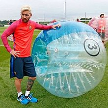 Football Zorbing UK Games and Activities