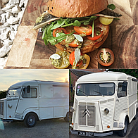 LH Robinson Vintage Catering Co Food Van