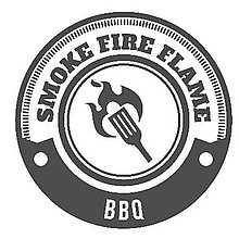 Smoke Fire Flame BBQ BBQ Catering