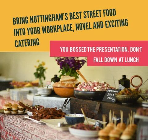 Street Food Revolution UK Buffet Catering