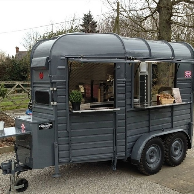 Porkys Pantry Food Van
