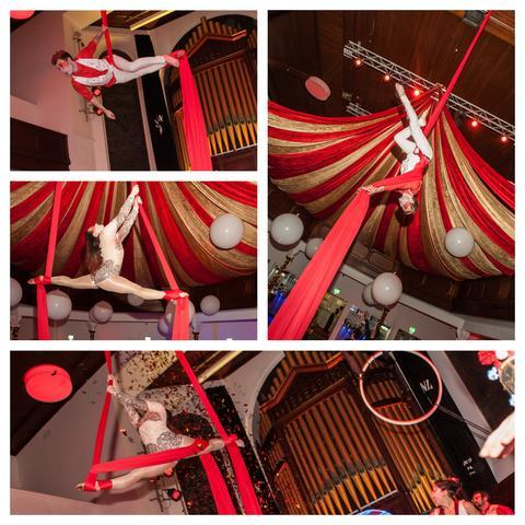 Adventure Circus - Aerial Acrobatic Performance & Workshops Trapeze Artist