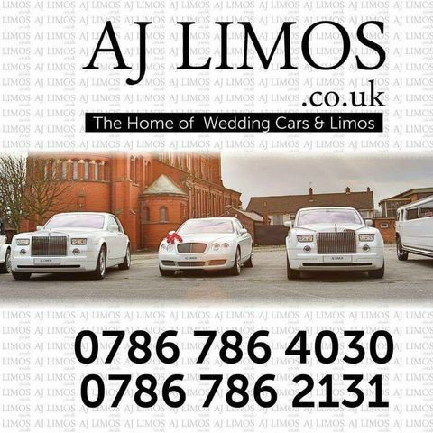 AJ LIMOS - Transport , Lancashire,  Wedding car, Lancashire Vintage Wedding Car, Lancashire Luxury Car, Lancashire Chauffeur Driven Car, Lancashire Limousine, Lancashire