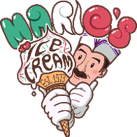 Mario's Ice Creams (Ice Cream Van Hire) Ice Cream Cart