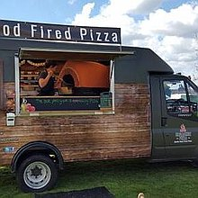 Broadside Pizza Pizza Van