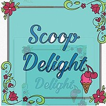 Scoop Delight Ice Cream Cart