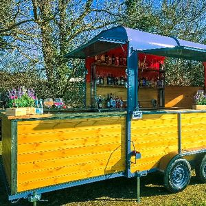 The Twisted Stirrup Mobile Bar