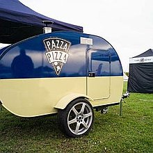 Pazza Pizza Food Van