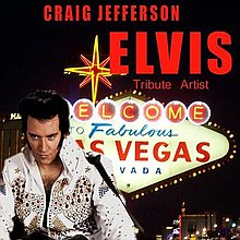 Craig Jefferson Elvis Tribute Artist Impersonator or Look-a-like