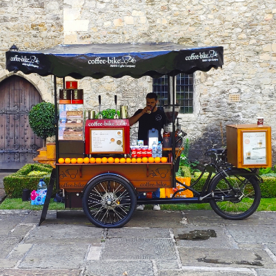 Coffee Nomad trading as Coffee-Bike Afternoon Tea Catering