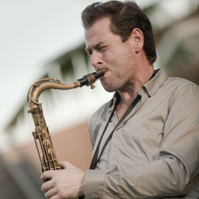 Kevin McMahon  Saxophonist Jazz Band