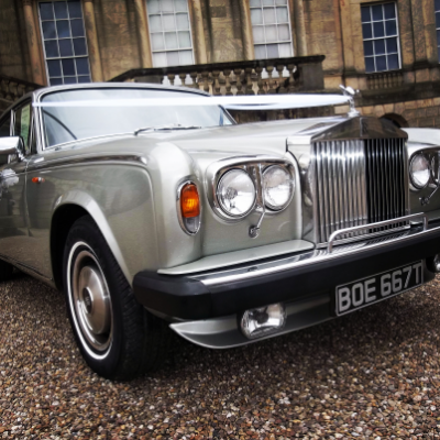 Derby wedding car hire Vintage & Classic Wedding Car